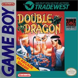 Box cover for Double Dragon on the Nintendo Game Boy.