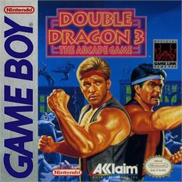 Box cover for Double Dragon 3 - The Rosetta Stone on the Nintendo Game Boy.