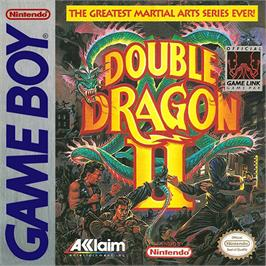 Box cover for Double Dragon II - The Revenge on the Nintendo Game Boy.