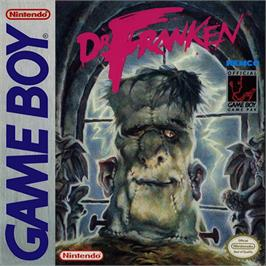 Box cover for Dr. Franken on the Nintendo Game Boy.