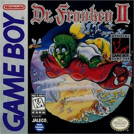 Box cover for Dr. Franken 2 on the Nintendo Game Boy.