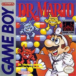 Box cover for Dr. Mario on the Nintendo Game Boy.