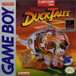 Box cover for Duck Tales on the Nintendo Game Boy.