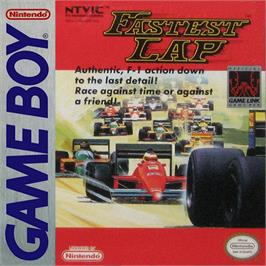 Box cover for Fastest Lap on the Nintendo Game Boy.
