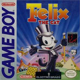 Box cover for Felix the Cat on the Nintendo Game Boy.
