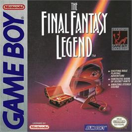 Box cover for Final Fantasy Legend on the Nintendo Game Boy.