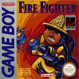 Box cover for Fire Fighter on the Nintendo Game Boy.