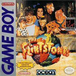 Box cover for Flintstones on the Nintendo Game Boy.