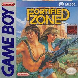 Box cover for Fortified Zone on the Nintendo Game Boy.