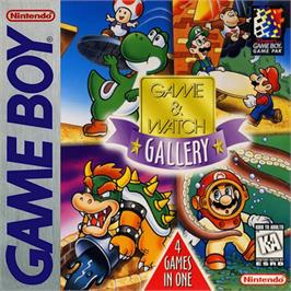 Box cover for Game & Watch Gallery on the Nintendo Game Boy.