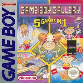 Box cover for Game Boy Gallery on the Nintendo Game Boy.