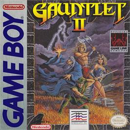 Box cover for Gauntlet II on the Nintendo Game Boy.