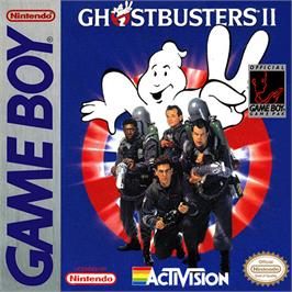 Box cover for Ghostbusters II on the Nintendo Game Boy.