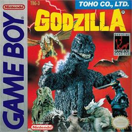 Box cover for Godzilla on the Nintendo Game Boy.