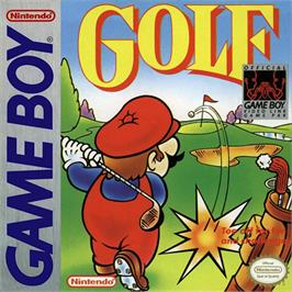 Box cover for Golf on the Nintendo Game Boy.