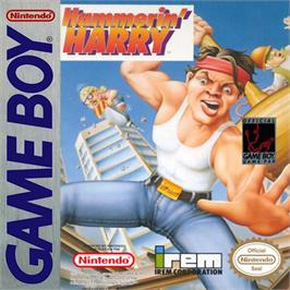 Box cover for Hammerin' Harry: Ghost Building Company on the Nintendo Game Boy.