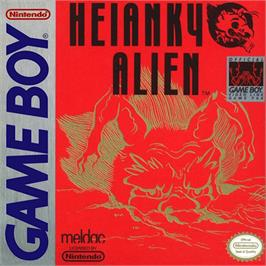 Box cover for Heiankyo Alien on the Nintendo Game Boy.