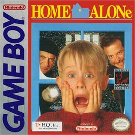 Box cover for Home Alone on the Nintendo Game Boy.