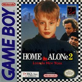 Box cover for Home Alone 2: Lost in New York on the Nintendo Game Boy.