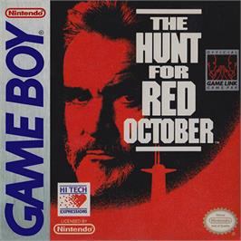Box cover for Hunt for Red October, The on the Nintendo Game Boy.