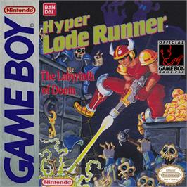 Box cover for Hyper Lode Runner on the Nintendo Game Boy.