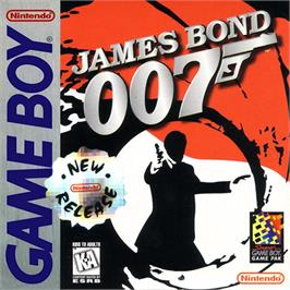 Box cover for James Bond 007 on the Nintendo Game Boy.