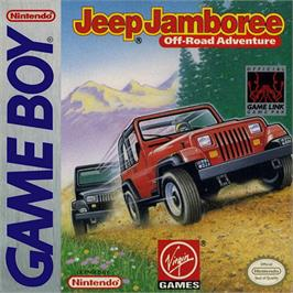 Box cover for Jeep Jamboree: Off Road Adventure on the Nintendo Game Boy.