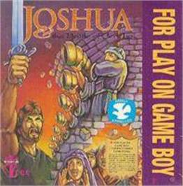 Box cover for Joshua & the Battle of Jericho on the Nintendo Game Boy.