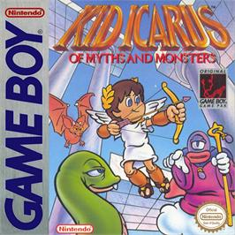 Box cover for Kid Icarus: Of Myths and Monsters on the Nintendo Game Boy.