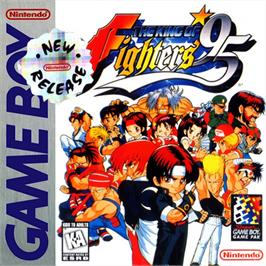 Box cover for King of Fighters '95, The on the Nintendo Game Boy.