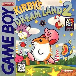 Box cover for Kirby's Dream Land 2 on the Nintendo Game Boy.