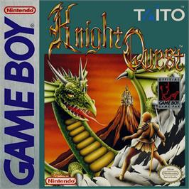 Box cover for Knight Quest on the Nintendo Game Boy.