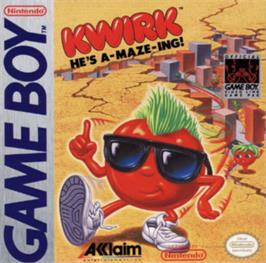 Box cover for Kwirk on the Nintendo Game Boy.