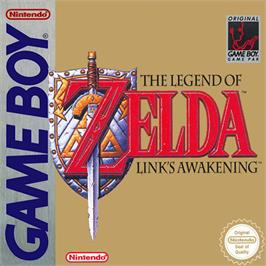 Box cover for Legend of Zelda: Link's Awakening on the Nintendo Game Boy.