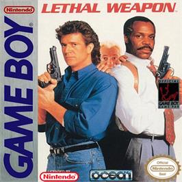 Box cover for Lethal Weapon on the Nintendo Game Boy.