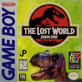 Box cover for Lost World: Jurassic Park on the Nintendo Game Boy.