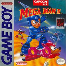 Box cover for Mega Man 2 on the Nintendo Game Boy.