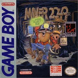 Box cover for Miner 2049er on the Nintendo Game Boy.