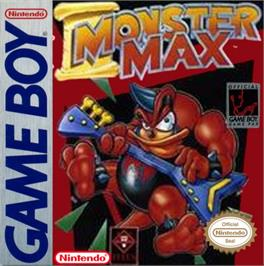 Box cover for Monster Max on the Nintendo Game Boy.