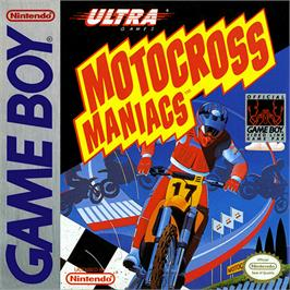 Box cover for Motocross Maniacs on the Nintendo Game Boy.
