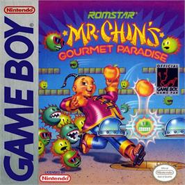 Box cover for Mr. Chin's Gourmet Paradise on the Nintendo Game Boy.