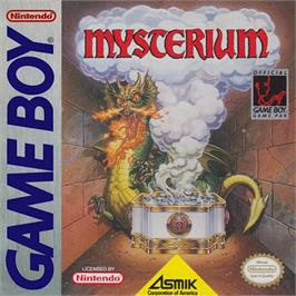 Box cover for Mysterium on the Nintendo Game Boy.