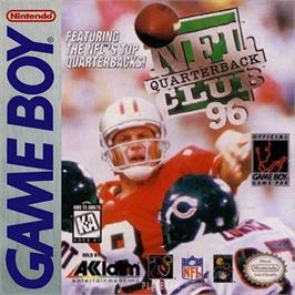 Box cover for NFL Quarterback Club '96 on the Nintendo Game Boy.