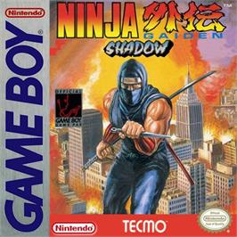 Box cover for Ninja Gaiden: Shadow on the Nintendo Game Boy.