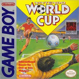 Box cover for Nintendo World Cup on the Nintendo Game Boy.