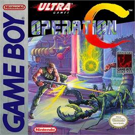 Box cover for Operation C on the Nintendo Game Boy.