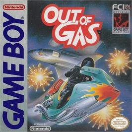 Box cover for Out of Gas on the Nintendo Game Boy.