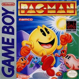 Box cover for Pac-Man on the Nintendo Game Boy.