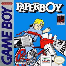 Box cover for Paperboy on the Nintendo Game Boy.
