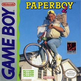 Box cover for Paperboy 2 on the Nintendo Game Boy.